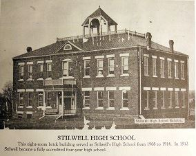 Stilwell High School in early 1900s